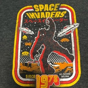 SPACE INVADERS graphic Tee XL